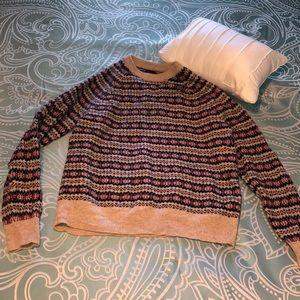 Patterned J. Crew Men's Sweater NWOT